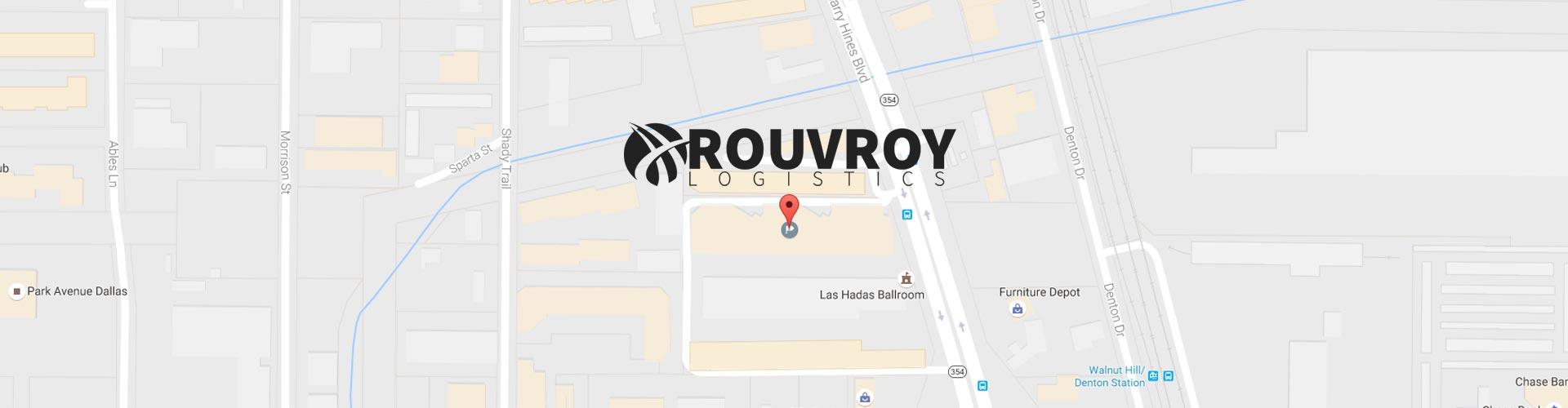 Rouvroy Logistics Map